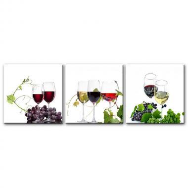 Вино и гроздь